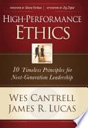 High Performance Ethics