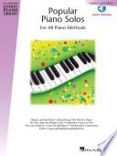 Popular Piano Solos   Level 2 Book PDF