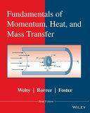 Fundamentals of Momentum, Heat and Mass Transfer, 6th Edition Pdf/ePub eBook