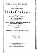 Vollständige Bibliothek oder encyclopädisches Real-Lexicon der gesammten theoretischen und praktischen Homöopathie