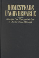 Homesteads Ungovernable Book