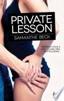 Private lesson Pdf/ePub eBook