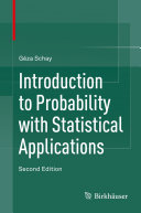 Pdf Introduction to Probability with Statistical Applications Telecharger