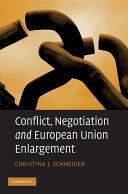 Conflict  Negotiation and European Union Enlargement