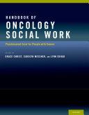 Handbook of Oncology Social Work