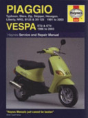 Piaggio (Vespa) Scooters Service and Repair Manual