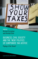 Business, Civil Society and the 'New' Politics of Corporate Tax Justice Pdf/ePub eBook