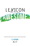 Lexicon of Awesome