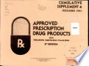 Approved Prescription Drug Products Book PDF