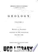 Geology, Volume I