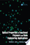Optical Properties of Functional Polymers and Nano Engineering Applications