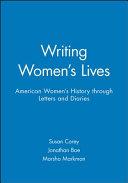 Writing Women s Lives