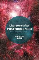Pdf Literature after Postmodernism Telecharger