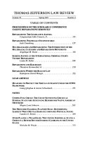 Proceedings of the Scholarly Conference