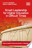 Smart Leadership for Higher Education in Difficult Times