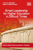 Pdf Smart Leadership for Higher Education in Difficult Times Telecharger