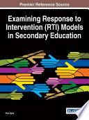 Examining Response To Intervention Rti Models In Secondary Education