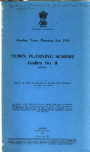 Town Planning Scheme Godhra No  II  Final