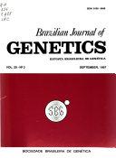 Brazilian Journal of Genetics ebook
