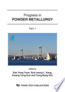 Progress in Powder Metallurgy Book