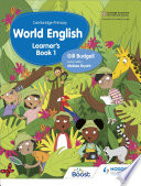 Cambridge Primary World English Learner s Book Stage 1