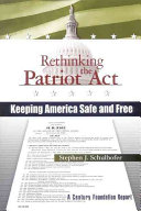 Rethinking the Patriot Act