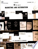 U S Department Of Commerce Publications For Use In Marketing And Distribution