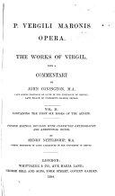 Pdf P. Vergili Maronis opera: The first six books of the Aeneid