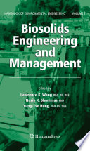 Book Cover: Biosolids Engineering and Management
