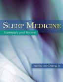 Sleep Medicine Pdf/ePub eBook