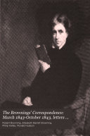 The Brownings Correspondence March 1843 October 1843 Letters 1174 1406