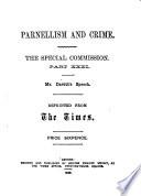 Parnellism and Crime  Mr  Davitt s speech Book