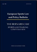 The Bernard Case. Sports and Training Compensation