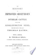 History of Improved Short-horn Or Durham Cattle