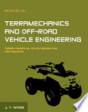 Terramechanics and Off Road Vehicle Engineering Book
