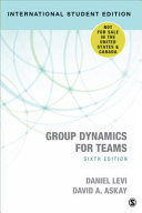Group Dynamics for Teams - International Student Edition