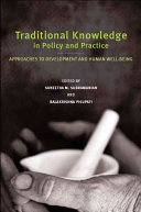 Traditional Knowledge In Policy And Practice