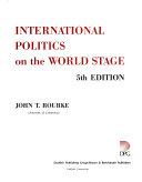 International politics on the world stage