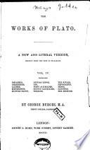 """The"" Works of Plato: Philebus Pdf/ePub eBook"