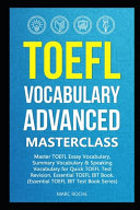 TOEFL Vocabulary Advanced Masterclass