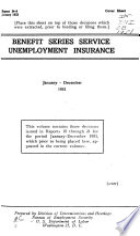 Benefit Series Service, Unemployment Insurance