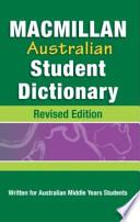 Macmillan Australian Student Dictionary