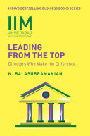 IIMA-Leading from the Top