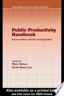 Public Productivity Handbook