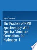 The Practice of NMR Spectroscopy