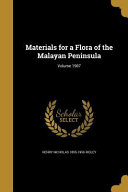 Materials For A Flora Of The M
