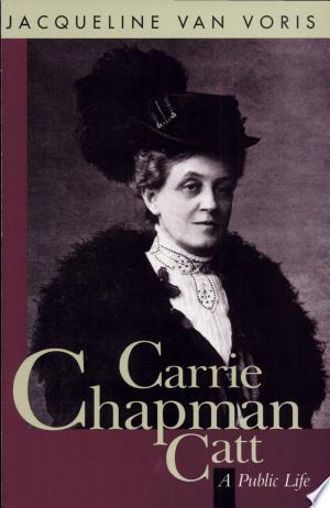 Free Download Carrie Chapman Catt PDF - Writers Club