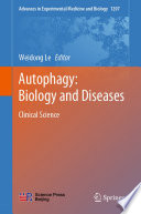 Autophagy  Biology and Diseases Book