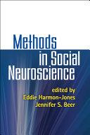 Methods in Social Neuroscience ebook
