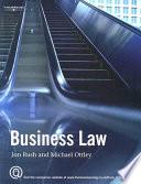 """""""Business Law"""" by Jon Rush, Michael Ottley"""